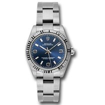 Rolex Oyster Perpetual 31 Steel 31mm Blue Arabic numerals