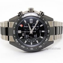 Seiko Grand Seiko Black Ceramic Chronograph GMT  Titanium