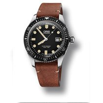 Oris 01 733 7720 4054-07 5 21 45 Steel Divers Sixty Five 42mm new