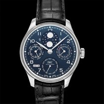 IWC Portuguese Perpetual Calendar White gold 44.20mm Blue United States of America, California, San Mateo