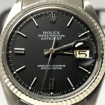 Rolex Datejust 1601 jubile' ghiera oro bianco 36mm oyster