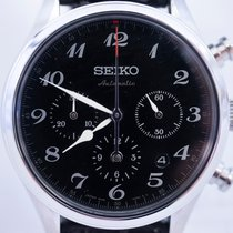 Seiko Presage Steel 42mm Black Arabic numerals United States of America, Florida, Pompano Beach