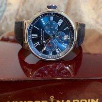 Ulysse Nardin Marine Chronograph Сталь 43mm