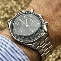 Omega Speedmaster Automatic Reduced Chronograph mens black watch