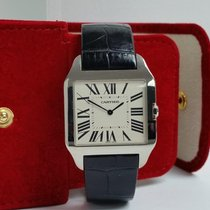 Cartier Santos Dumont White gold 35mm Silver Roman numerals United States of America, California, Los Angeles