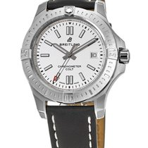 Breitling Chronomat Colt Steel Silver No numerals United States of America, New York, Brooklyn
