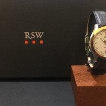 RSW Stahl 36mm Quarz 6240.SP.L1.211.00 neu