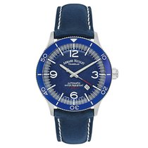 Armand Nicolet 47mm Automatic new Blue