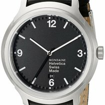 Mondaine Steel 43mm Quartz MH1.B1220.LB new