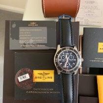 Breitling Superocean Chronograph M2000 Stahl 46mm Schwarz