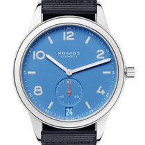 NOMOS Steel 41.5mm Automatic 777 new