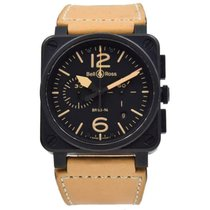 Bell & Ross BR03-94 Steel BR 03-94 Chronographe 42mm pre-owned United States of America, Indiana, Carmel