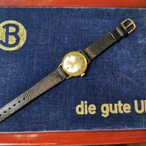 Bifora Gold/Steel 33,5mm Automatic Bifora Vintage Automatik Kaliber 114 mit Kalender pre-owned