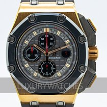 Audemars Piguet Royal Oak Offshore Chronograph Ροζέ χρυσό 44mm Γκρι