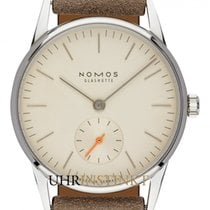 NOMOS Orion 33 Staal 32.8mm Champagne