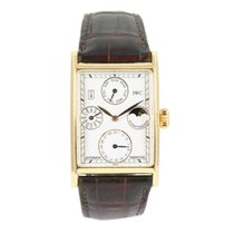IWC Novecento pre-owned 26.5mm White Leather