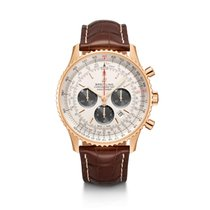 Breitling Red gold Automatic Silver 46mm new Navitimer 01 (46 MM)