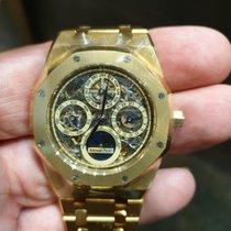 Audemars Piguet 25829BA.OO.0944BA.01 Yellow gold 2007 Royal Oak Perpetual Calendar 39mm new