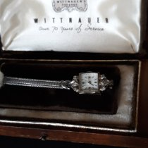 Wittnauer pre-owned Manual winding 13mm White Not water resistant