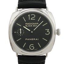 Panerai Radiomir Black Seal Сталь 45mm Чёрный