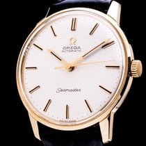 Omega 165001 Yellow gold Seamaster 34mm pre-owned