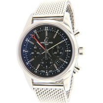 Breitling Transocean Chronograph GMT 43mm Black
