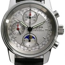 Zeno-Watch Basel Chronograph 40mm Automatik neu Weiß