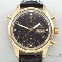 IWC Fliegeruhr Der Doppelchronograph Rattrapante IW 3713 Gold