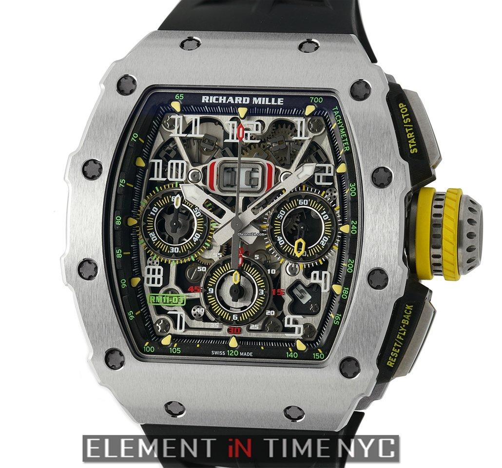 Richard Mille RM 11-03 Titanium Felipe Massa Automatic Flyback Chronograph