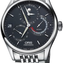 Oris Artelier Calibre 112 Steel 43mm Blue United States of America, New York, Airmont