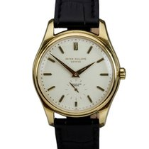 Patek Philippe 18K Yellow Gold Ref 2526 Retailed by Serpico y...