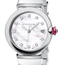 Bulgari Lvcea Stainless Steel Automatic 36mm Ladies Watch