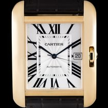 Cartier Tank Anglaise Yellow gold 36.2mm Silver Roman numerals United Kingdom, London