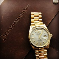 Rolex Day-Date, ref: 1803.  Grey dial.  Yellow  Gold. 1967.