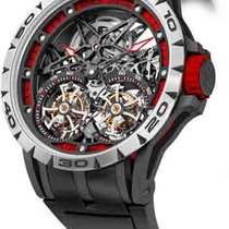 Roger Dubuis new Manual winding Skeletonized Display back Limited Edition PVD/DLC coating Titanium Sapphire crystal