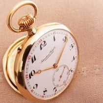 IWC 14K Gold Pocket watch International Watch Taschenuhr 1919