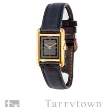 Cartier Tank Vermeil 21mm Black Roman numerals United States of America, New York, Hartsdale