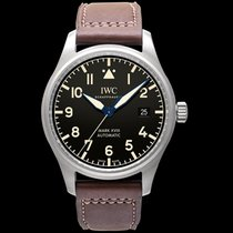 IWC Pilot's Watch Mark XVIII Heritage Black Titanium/Leather 40m
