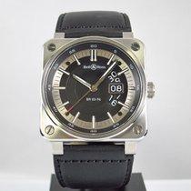 Bell & Ross BR 03-96 Grande Date pre-owned 42mm Black Date Calf skin