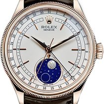 Rolex Cellini Moonphase Rose gold 39mm White No numerals United States of America, California, Los Angeles