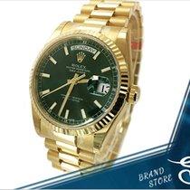 롤렉스Day-Date,새 시계/미 사용,정품 박스 있음, 서류 원본 있음,36 mm,옐로우골드