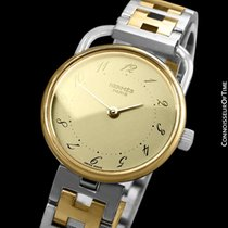 Hermès Arceau Gold/Steel 25mm Arabic numerals United States of America, Georgia, Suwanee