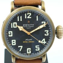 Zenith 29.2430.679/21.C753 Bronze 2018 Pilot Type 20 Extra Special 45mm pre-owned United States of America, California, Costa Mesa
