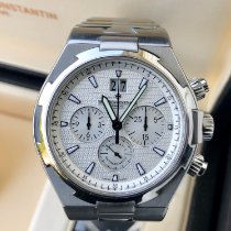 Vacheron Constantin Overseas Chronograph pre-owned 42mm Silver Chronograph Date Steel