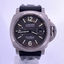 Panerai Luminor Marina Automatic Titan 44mm Negru Arabic