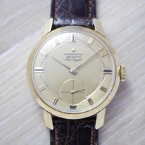 Zenith Yellow gold Manual winding 35mm pre-owned Port Royal