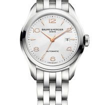 Baume & Mercier Clifton new Automatic Watch with original box and original papers 10150  M0A10150