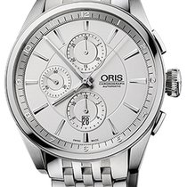 Oris Artix Chronograph Steel Silver United States of America, New York, Brooklyn