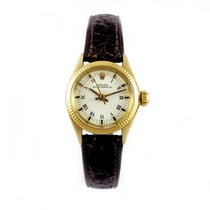 Rolex Ladies OYSTER PERPETUAL 18k Y.Gold