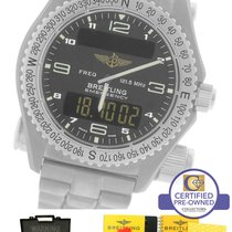 Breitling Emergency Mission Titanium E56121 E56121.1 Gray 43mm...